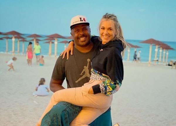Cabral și Andreea Ibaka, foto Instagram