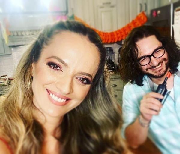 Florin Dumitrescu și soția lui, sursa foto Instagram