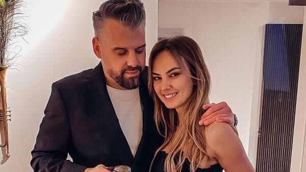 Roxana Ionescu și soțul ei, sursa foto Instagram