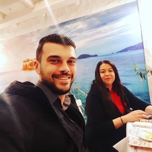 Marius Elisei și Oana Roman, sursa foto Instagram