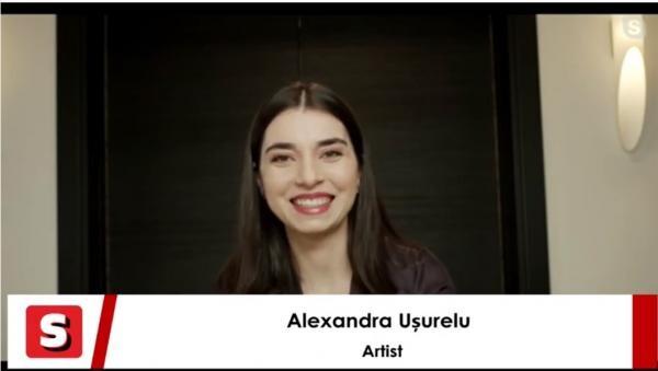 """Alexandra Ușurelu lansează """"Fata care chiar există"""". Interviurile Spectacola"""