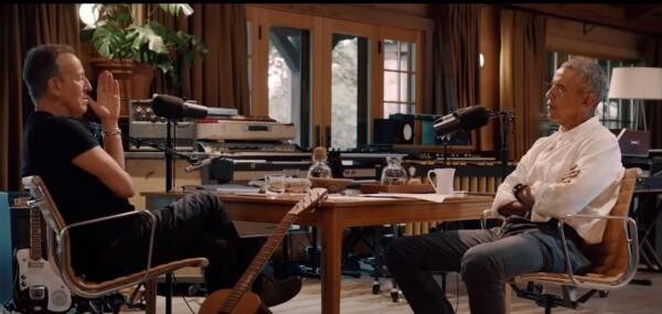 Barack Obama și Bruce Springsteen, foto Instagram