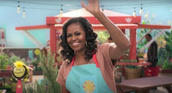 Michelle Obama/ Captură foto Youtube/ Sursa Netflix