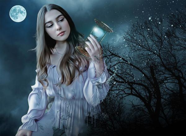 Lună Nouă, sursa pixabay/ autor Enrique Meseguer