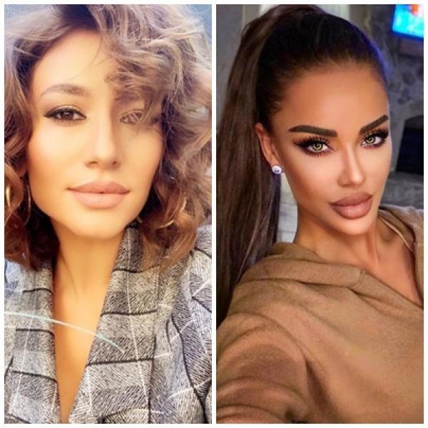 Bianca Drăgușanu și Claudia Pătrășcanu, sursa instagram