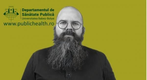 Razvan Chereches, profesor de sănătate publică, captură foto Facebook/ Ro Vaccinare