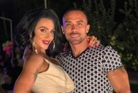 Oana Radu și soțul ei, foto Instagram