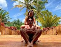 Cezar Ouatu si iubita sa, foto Instagram