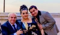 Aurel Pădureanu, Cornelia Catanga și Alexandru Pădureanu, sursa foto Facebook