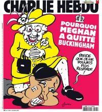 Coperta revistei Charlie Hebdo. foto Instagram