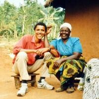 Barack Obama și Sarah Obama, foto Instagram