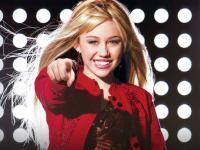 Miley Cyrus în Hannah Montana. Foto Facebook