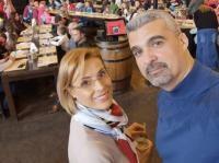 Monica Davidescu și Aurel Temișan, sursa instagram