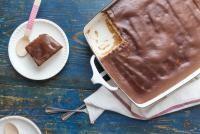 Prăjitură de post cu glazură, foto Unsplash/ autor: American Heritage Chocolate