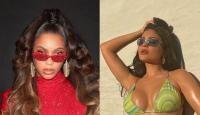 Beyonce, Kylie Jenner, colj, sursa foto Instagram