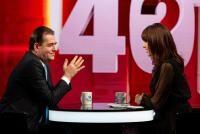 """Ludovic Orban, la """"40 de întrebări cu Denise Rifai"""", foto Kanal D"""