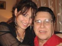 Marius Țeicu și fiica sa, Patricia. Foto Facebook