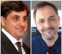 Marian Manole și Petru Mircea, sursa facebook