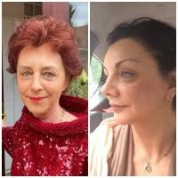 Flavia Groșan și Carmen Tănase, sursa facebook
