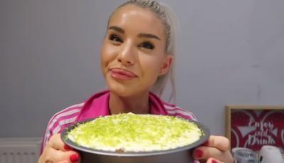 Carmen Grebenișan, rețetă tartă cu lapte condensat și lime. Captură foto Youtube