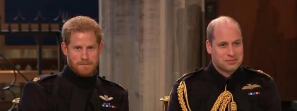 Prințul Harry și Prințul William, captură foto Youtube, sursa The Royal Family Channel