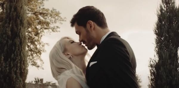 Andreea Bălan și George Burcea, captura foto Youtube