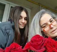 Maia Morgenstern și Isadora, Foto: Facebook