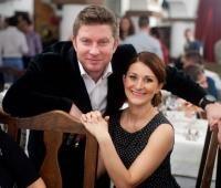 Pavel Bartos și sotia sa, foto Facebook
