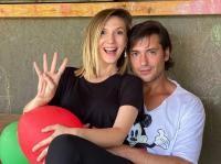 Radu Vâlcan și Adela Popescu, foto Instagram