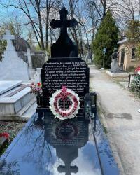 Mormântul Ionelei Prodan, sursa foto Instagram