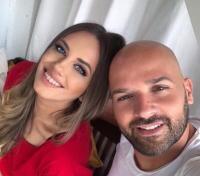 Andrei Ștefănescu și Antonia, sursa foto Facebook
