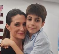 Iuliana Tudor și fiul ei, foto Arhiva personala