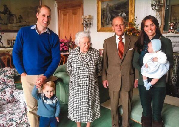 Ducele şi ducesa de Cambridge, sursa foto Instagram