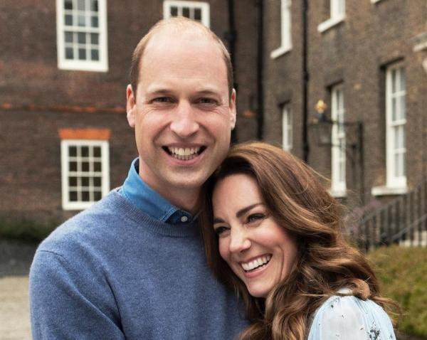 Ducele şi ducesa de Cambridge, sursa foto Instagram/ The Royal Family