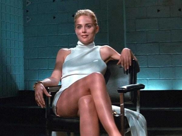 Sharon Stone în Basic Instinct. Captură foto YouTube