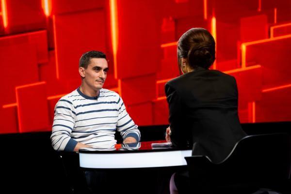 """Marian Drăgulescu, la """"40 de întrebări cu Denise Rifai"""", foto Kanal D"""