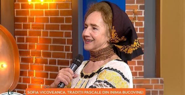 Sofia Vicoveanca, captura foto ProTV