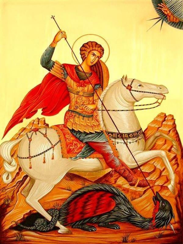 Sf. Gheorghe, sursa foto creștinortodox.ro