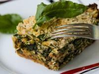 Rețetă dietetică de plăcintă cu spanac și brânză, de la Cori Grămescu, foto Facebook