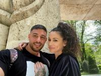 Roxana Vancea și Dragoș, sursa foto Instagram