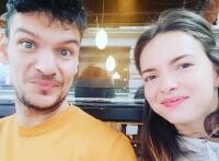 Tudor Chirila și soția lui, sursa foto Instagram