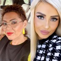 Minodora și Bianca Rus, colaj foto/ Instagram