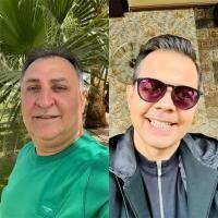 Vali Vijelie și Jean de la Craiova, colaj/ sursa Instagram