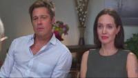 Brad Pitt și Angelina Jolie, captura foto YouTube