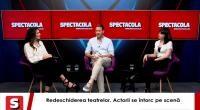 Oana Predescu, Ovidiu Ușvat, la Interviurile Spectacola și Dc News