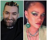 Smiley și Rihanna, sursa instagram/ colaj foto