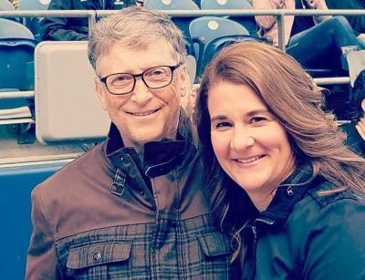 Bill Gates și Melinda, foto Instagram