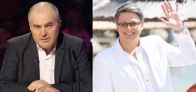 Florin Călinescu, Fuegă, colaj foto Facebook