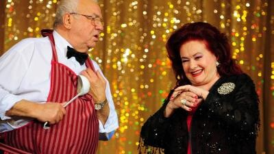 Alexandru Arșinel și Stela Popescu. Captura foto Youtube