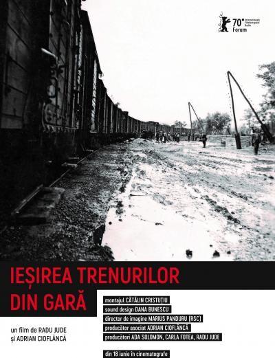 """""""Ieșirea trenurilor din gară"""", de Radu Jude și Adrian Cioflâncă"""